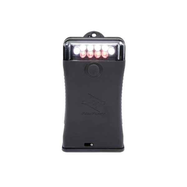 FoxFury Scout Clip Light with White and Red LEDs