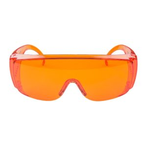 FoxFury poly-carbonate forensic goggles orange