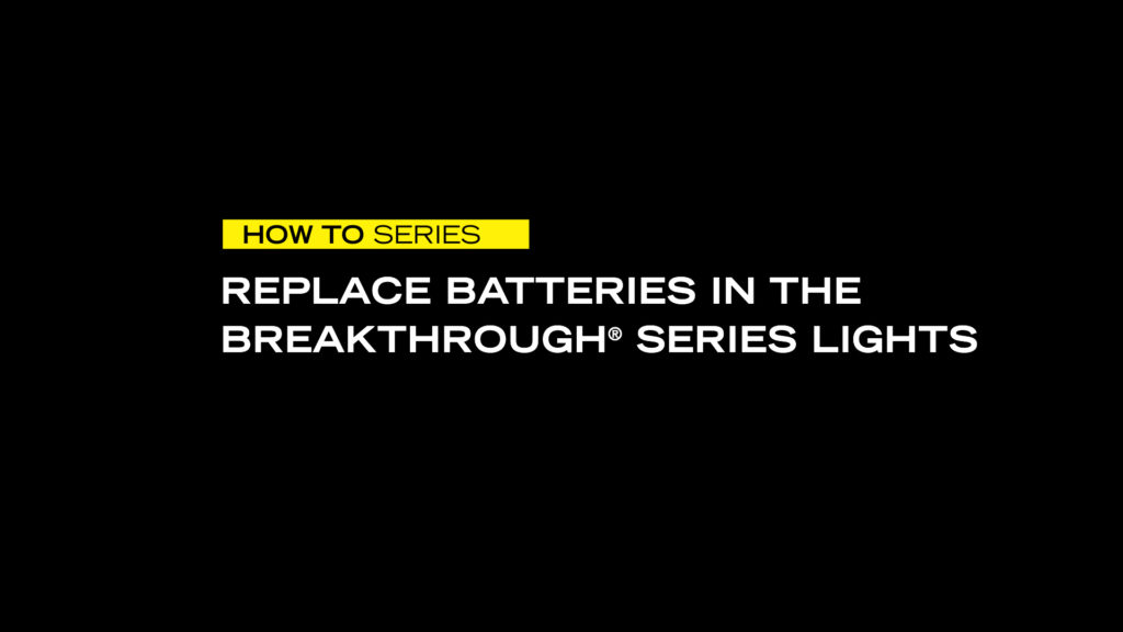 How to Replace Batteries in BT Lights VIDEO