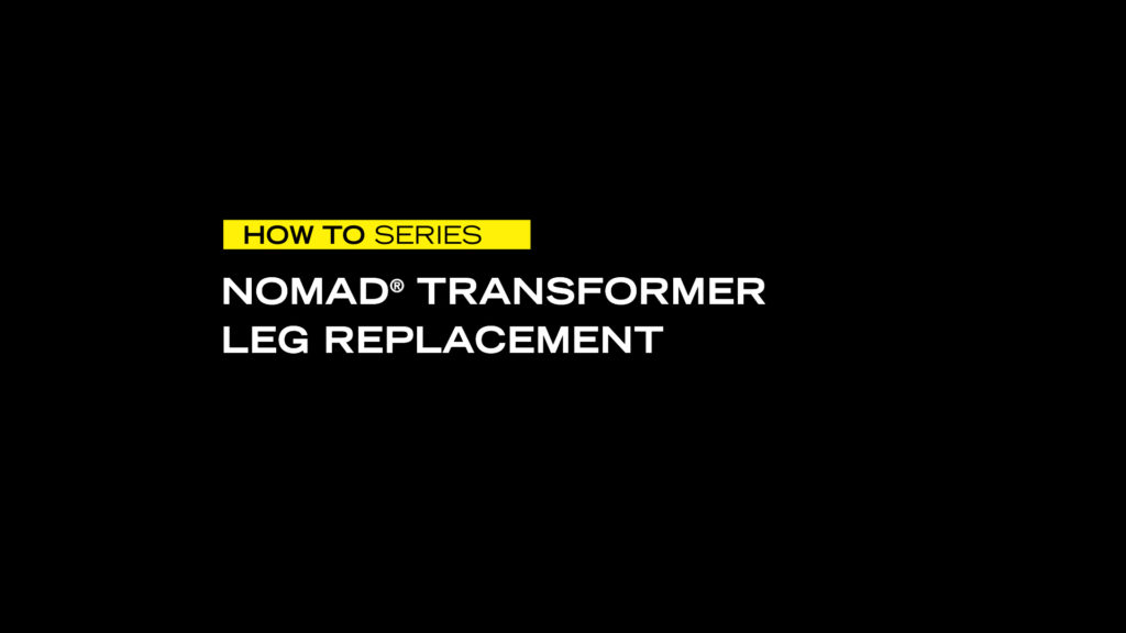 FoxFury, Nomad Transformer Leg Replacement, How To