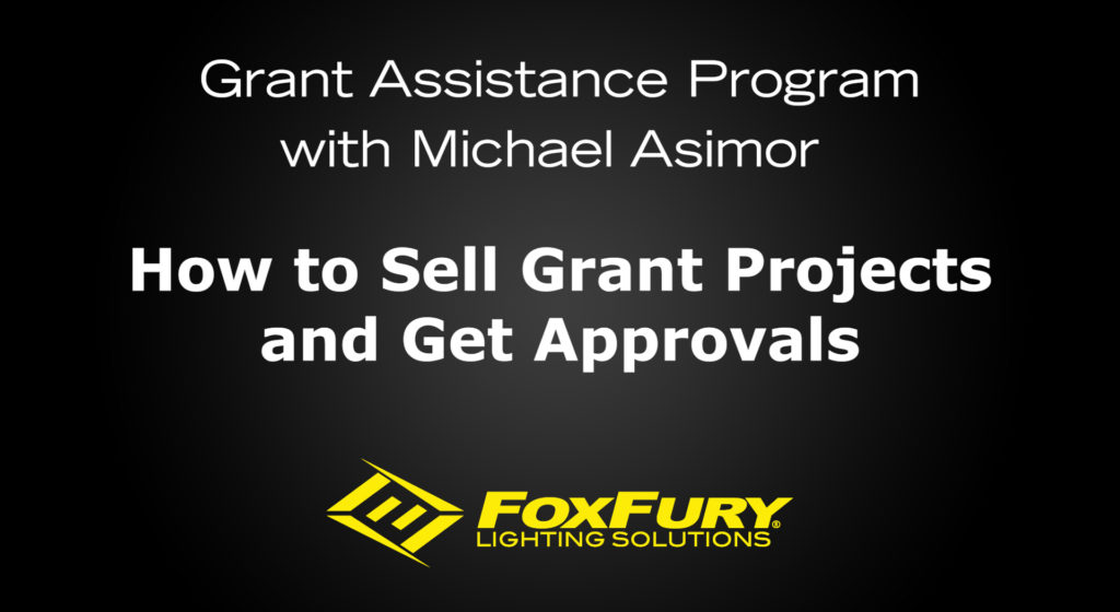 How to Sell Grant Projects and Get Approval video